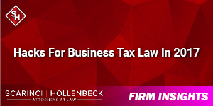 Hacks For Business Tax Law In 2017