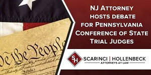 NJ Constitutional Attorney to Lead Debate before 350 + PA Judges
