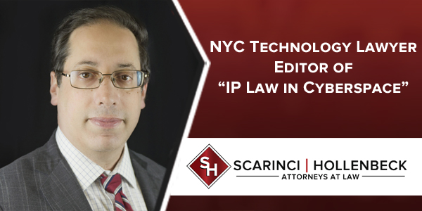 "NYC Technology Lawyer is Editor of ""IP Law in Cyberspace"""