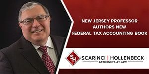NJ Professor Authors New Federal Tax Accounting Book