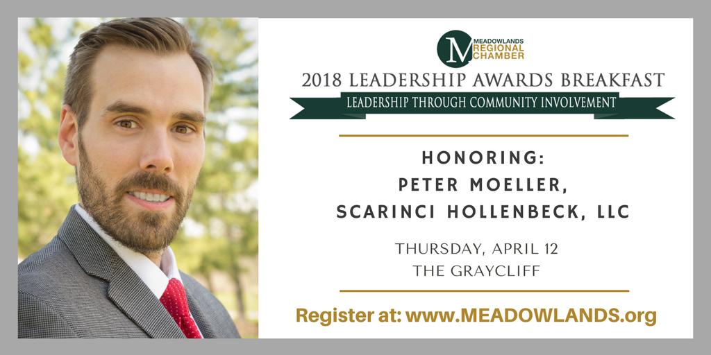 Peter Moeller Receives Leadership Award