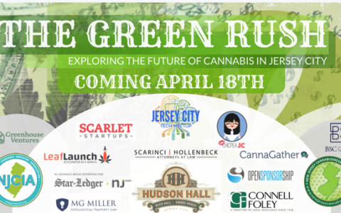 "Jersey City Cannabis Business Workshop, ""The Green Rush,"" April 18, 2018"