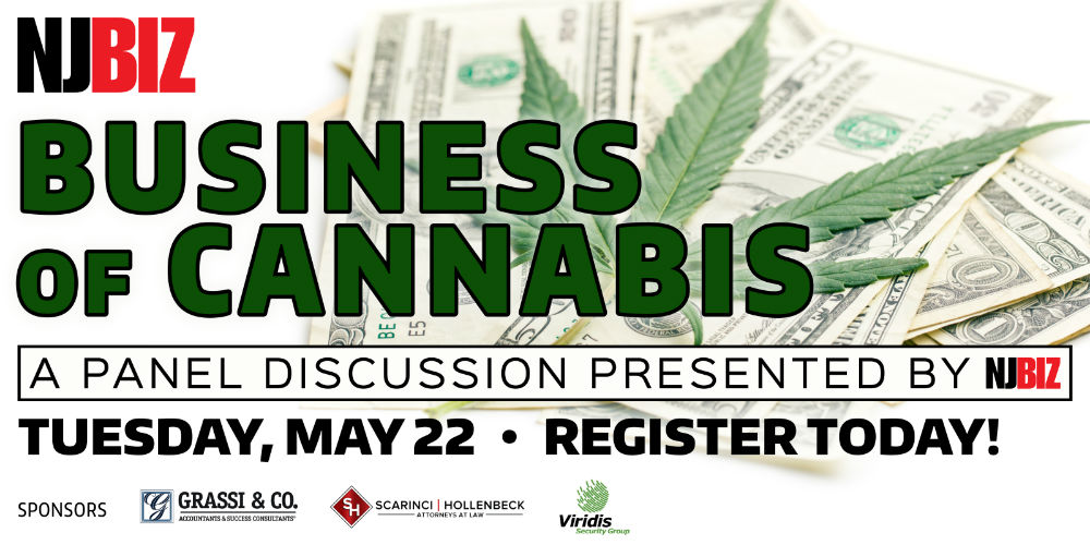 """NJBiz Panel Discussion, """"Business of Cannabis,"""" May 22, 2018"""