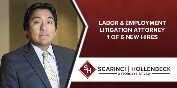 Employment Litigation Attorney One of Six New Hires for NJ Law Firm
