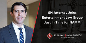 SH Attorney Joins Entertainment Law Group Just in Time for NAMM