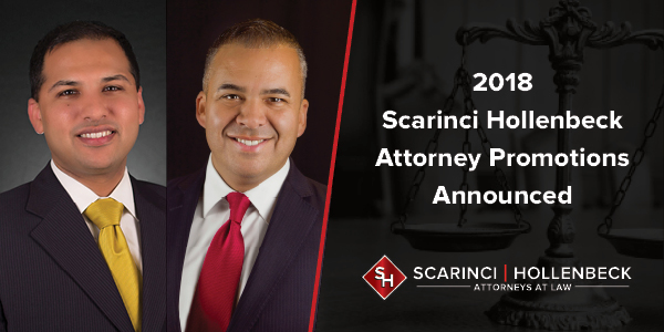 2018 Scarinci Hollenbeck Attorney Promotions Announced