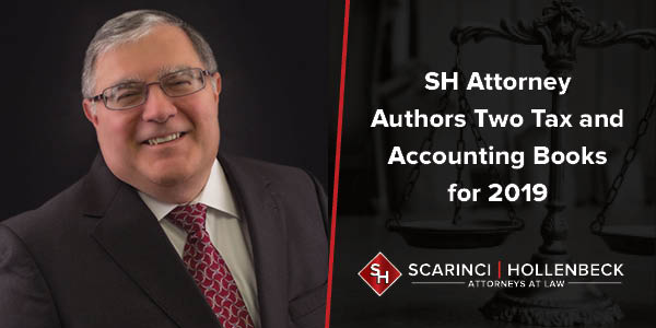 SH Attorney Authors Two Tax and Accounting Books for 2019