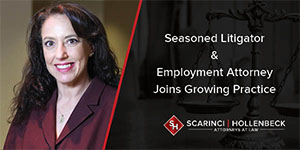 Seasoned Litigator and Employment Attorney Joins Growing Practice