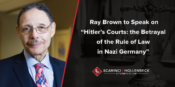 """Hitler's Courts: the Betrayal of the Rule of Law in Nazi Germany"" NJICLE Event"