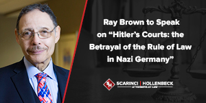 """""""Hitler's Courts: the Betrayal of the Rule of Law in Nazi Germany"""" NJICLE Event"""