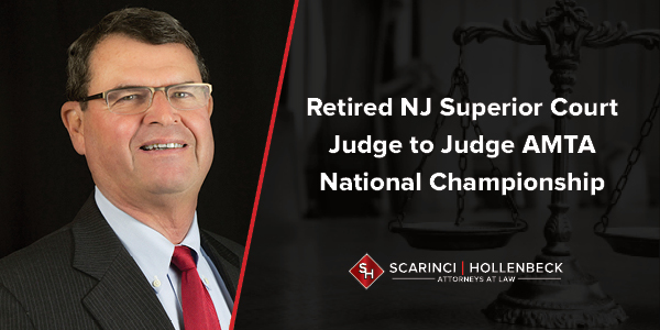 Retired NJ Superior Court Judge to Judge AMTA National Championship