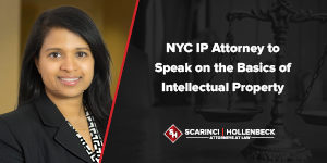 NYC IP Attorney to Speak on the Basics of Intellectual Property
