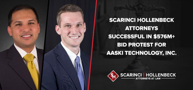 Scarinci Hollenbeck Attorneys Successful in $576M+ Bid Protest for AASKI Technology, Inc.