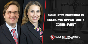 Sign Up to Investing in Economic Opportunity Zones Event