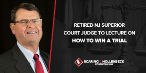 Retired NJ Superior Court Judge to Lecture on How to Win a Trial