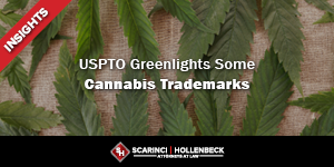 USPTO Greenlights Some Cannabis Trademarks