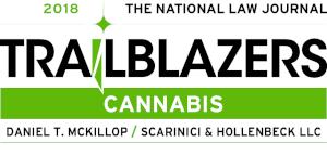 Daniel T. McKillop Named Among National Law Journal Cannabis Trailblazers