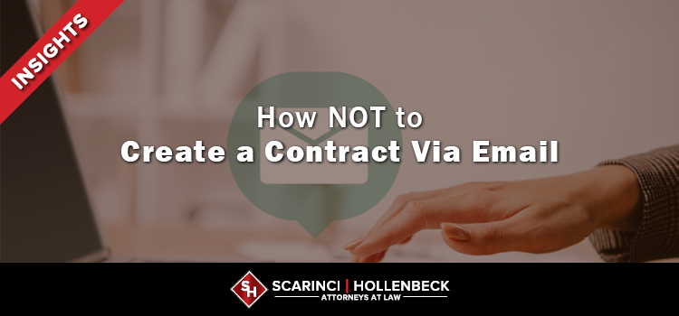 How NOT to Create a Contract Via Email