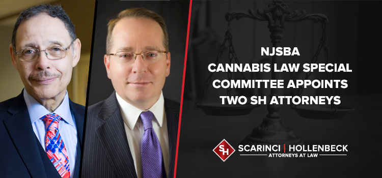 NJSBA Cannabis Law Special Committee Appoints Two SH Attorneys