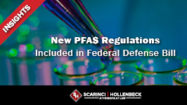 New PFAS Regulations Included in Federal Defense Bill