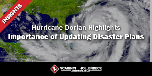 Hurricane Dorian Highlights Importance of Updating Disaster Plans