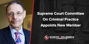 Supreme Court Committee on Criminal Practice Appoints New Member