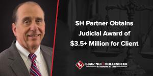 SH Partner Obtains Judicial Award of $3.5+ Million for Client