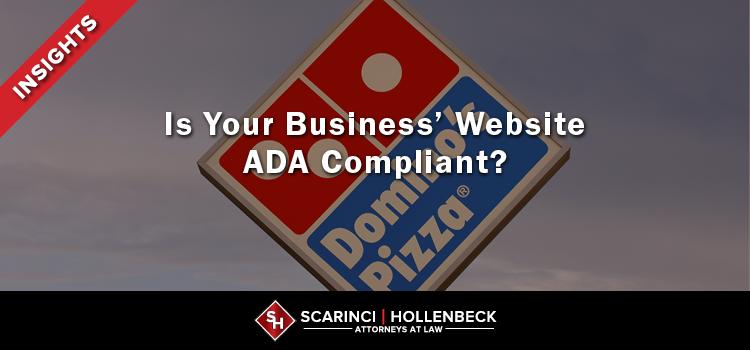 Is Your Business' Website ADA Compliant?