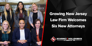 Growing New Jersey Law Firm Welcomes Six New Attorneys