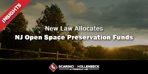 New Law Allocates New Jersey Open Space Preservation Funds