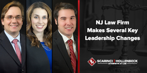 NJ Law Firm Makes Several Key Leadership Changes