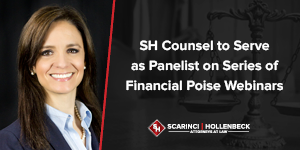 SH Counsel to Serve as Panelist on Series of Financial Poise Webinars