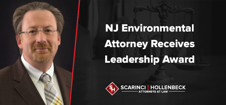 NJ Environmental Attorney Receives Leadership Award