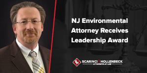 NJ Environmental Attorney Receives Leadership Award