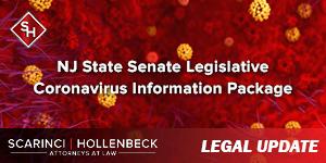 NJ State Senate Legislative Coronavirus Information Package