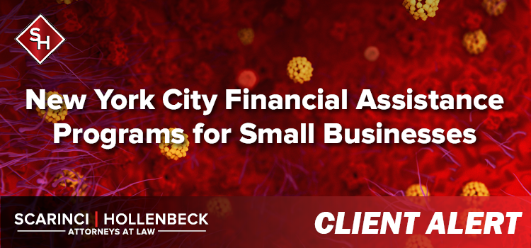 New York City Financial Assistance Programs for Small Businesses