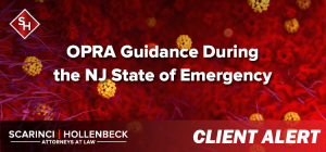 OPRA Guidance During the NJ State of Emergency
