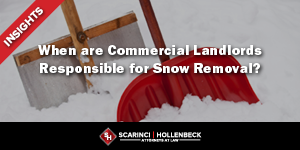 NJ Supreme Court Clarifies When NJ Commercial Landlords Are Responsible for Snow Removal