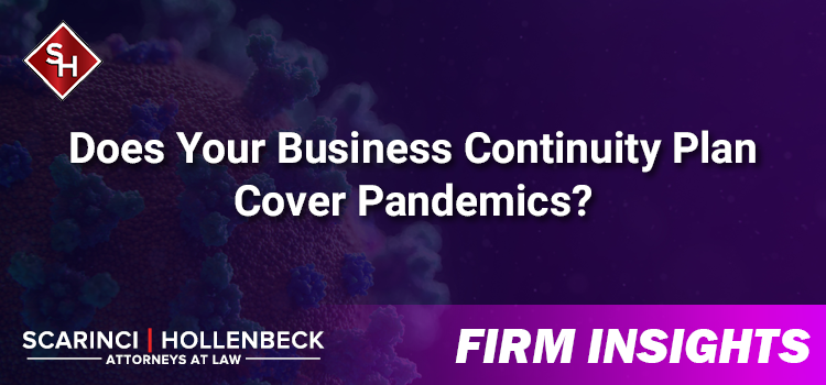 Does Your Business Continuity Plan Cover Pandemics?