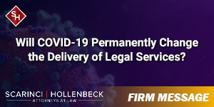 Will COVID-19 Permanently Change the Delivery of Legal Services?