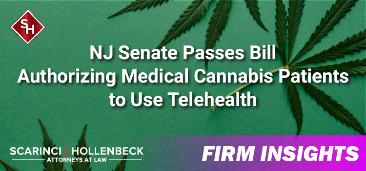NJ Senate Passes Bill Authorizing Medical Cannabis Patients to Use Telehealth