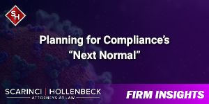 "Planning for Compliance's ""Next Normal"""