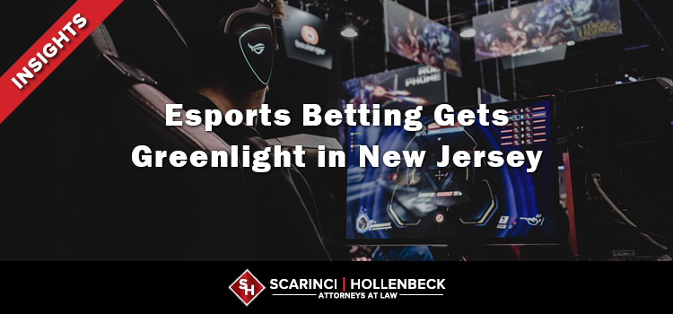 Esports Betting Gets Greenlight in New Jersey