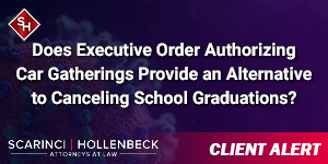 Does Executive Order Authorizing Car Gatherings Provide an Alternative to Canceling School Graduations?