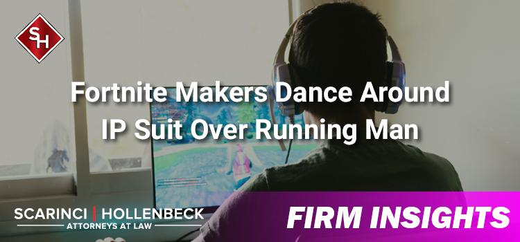 Fortnite Makers Dance Around IP Suit Over Running Man