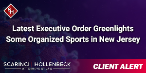 Latest Executive Order Greenlights Some Organized Sports in New Jersey