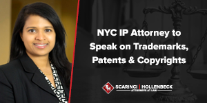NYC IP Attorney to Speak on Trademarks, Patents & Copyrights