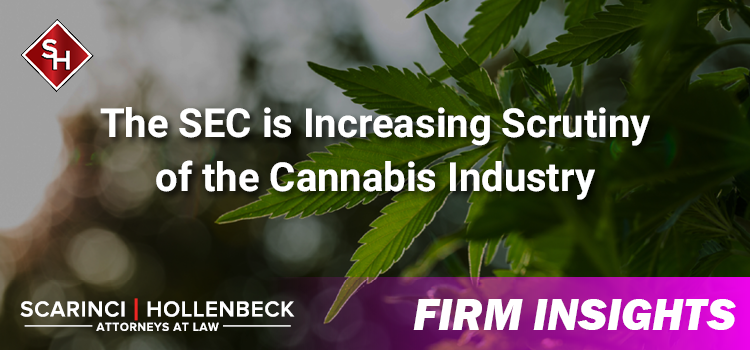 The SEC is Increasing Scrutiny of the Cannabis Industry