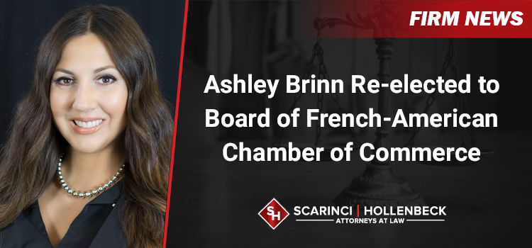 Ashley Brinn Re-elected to Board of French-American Chamber of Commerce