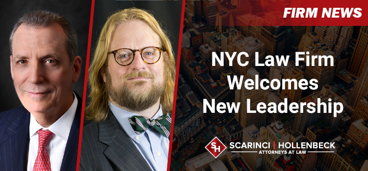 NYC Law Firm Welcomes New Leadership